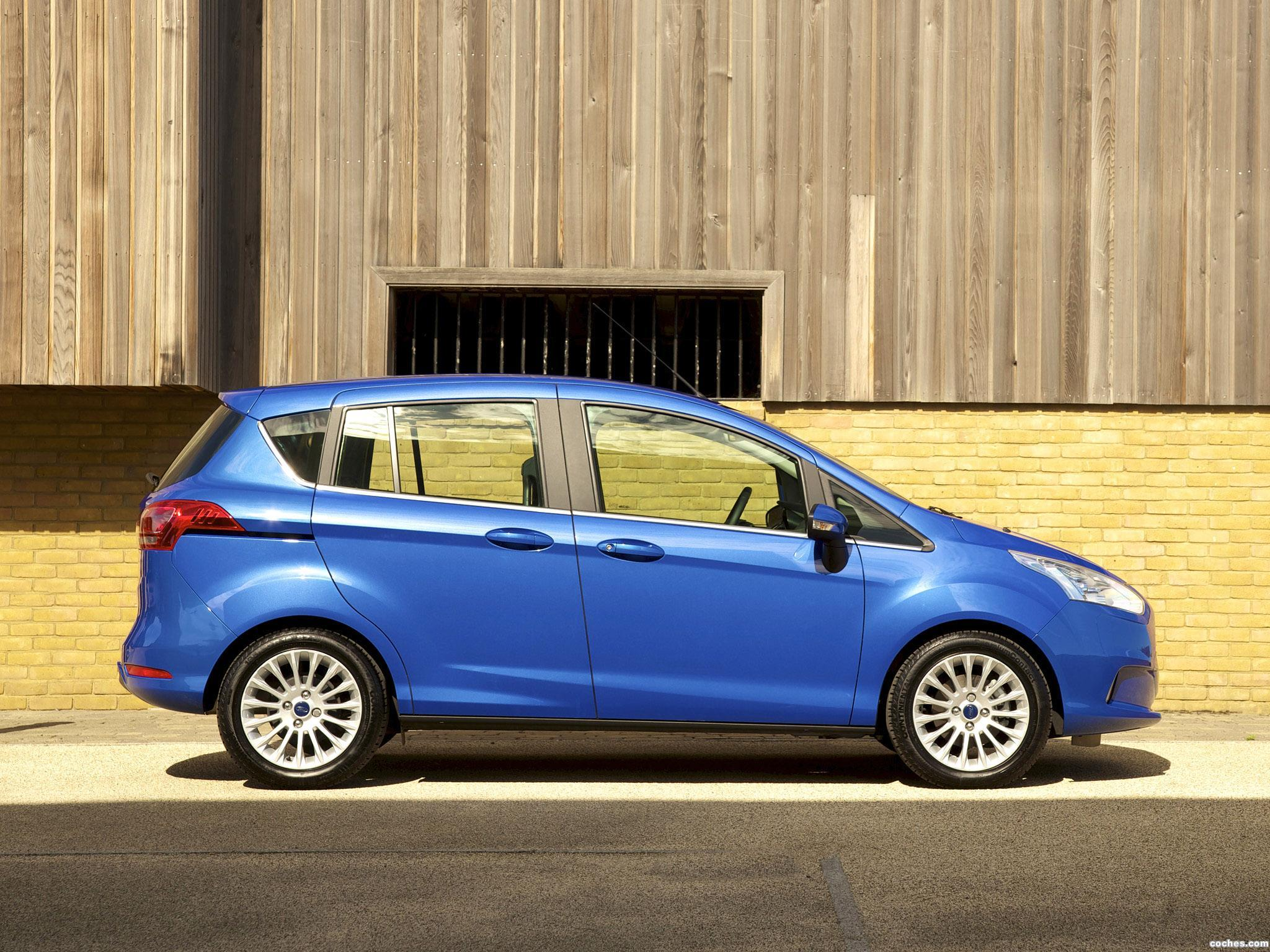 Foto 11 de Ford B-Max UK 2013