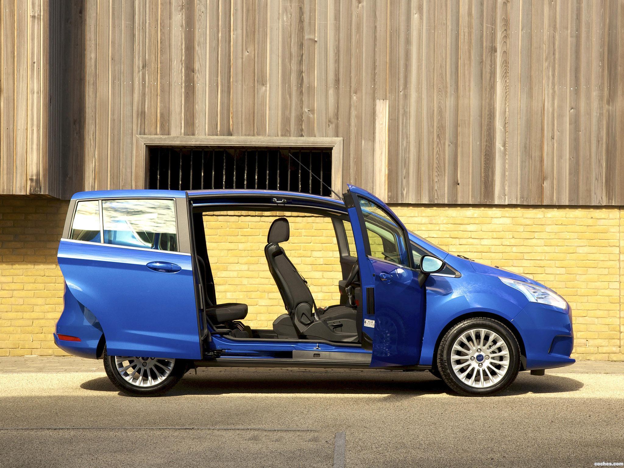 Foto 10 de Ford B-Max UK 2013