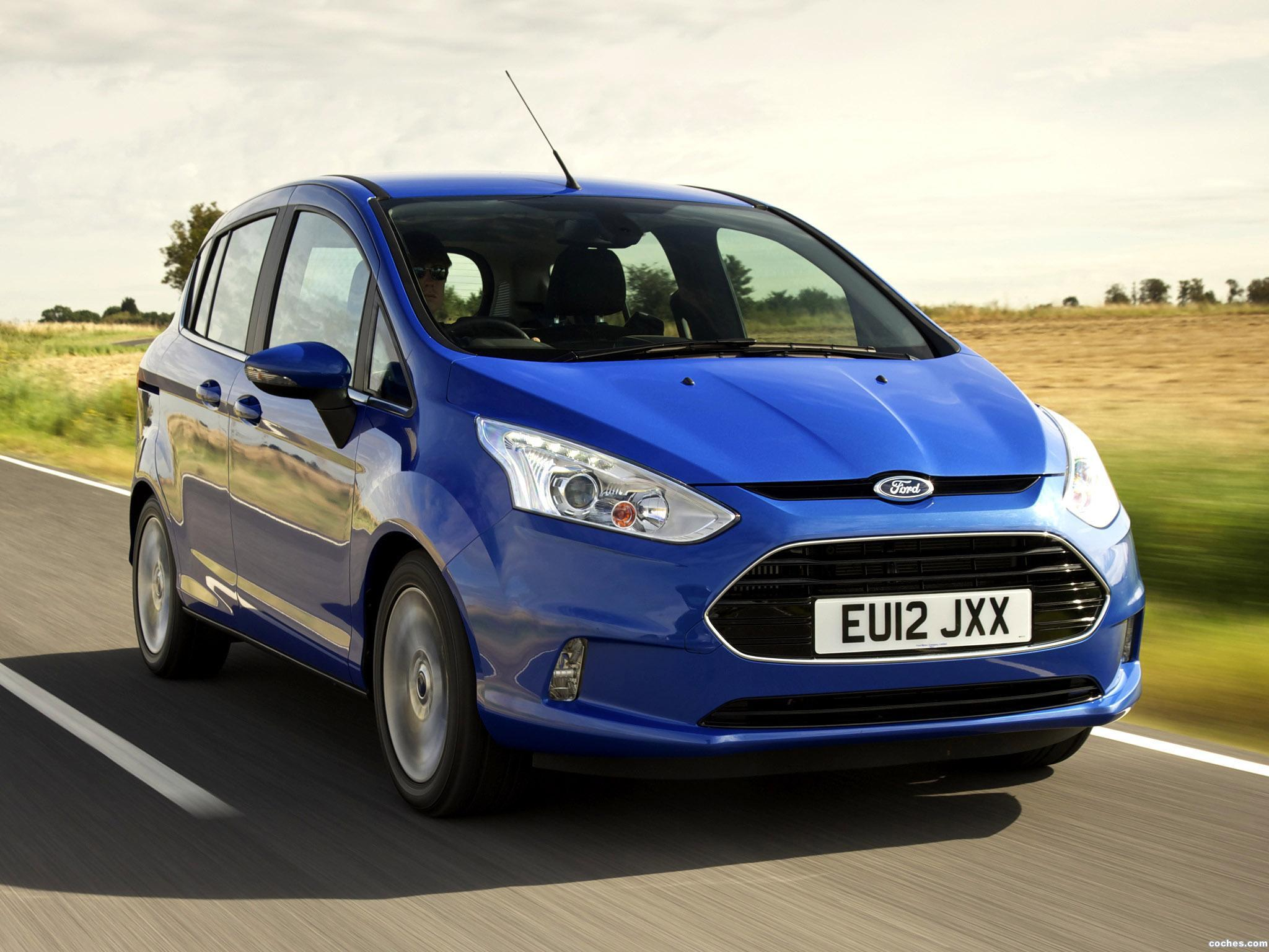 Foto 8 de Ford B-Max UK 2013