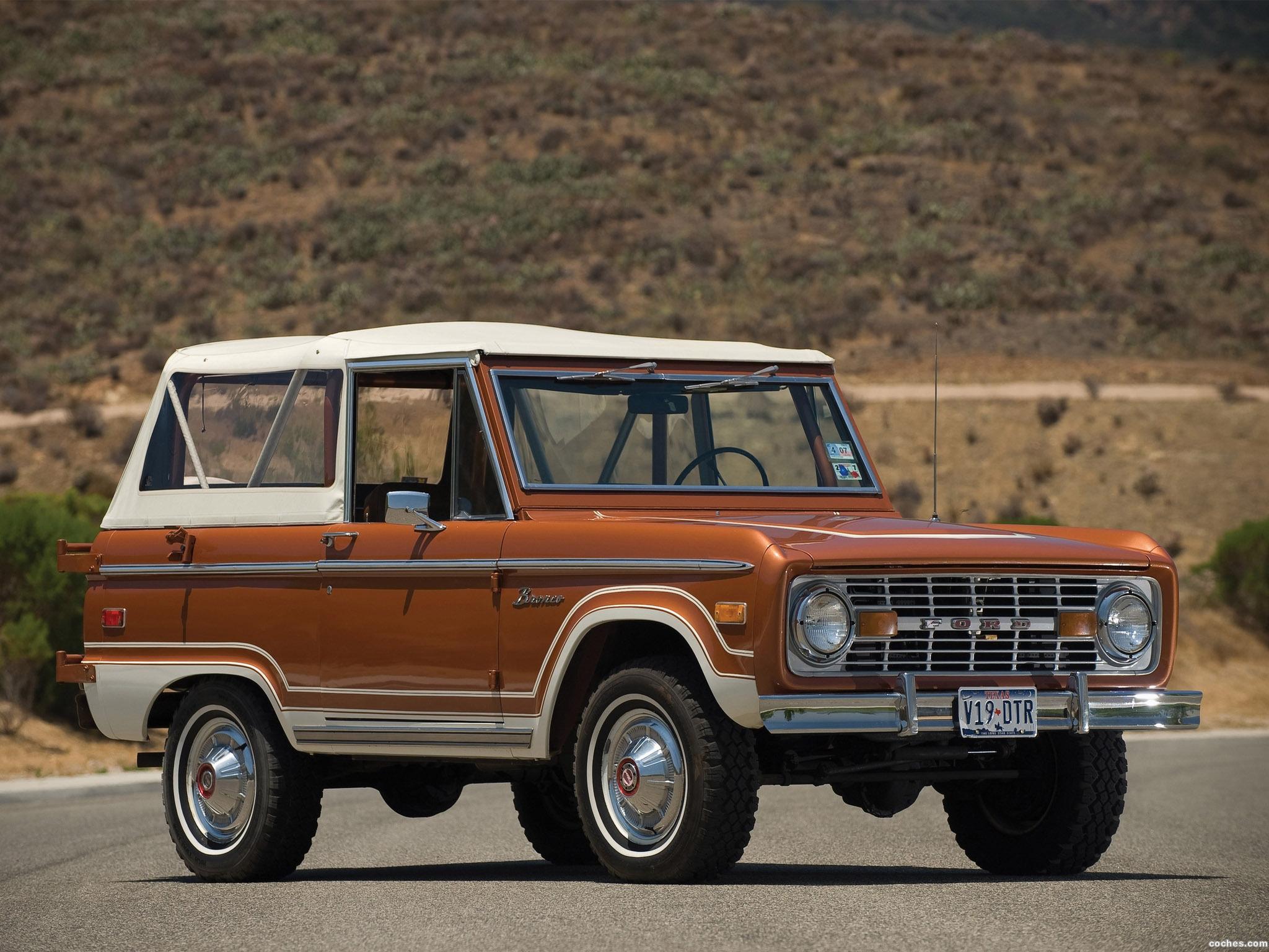 Foto 0 de Ford Bronco 1973