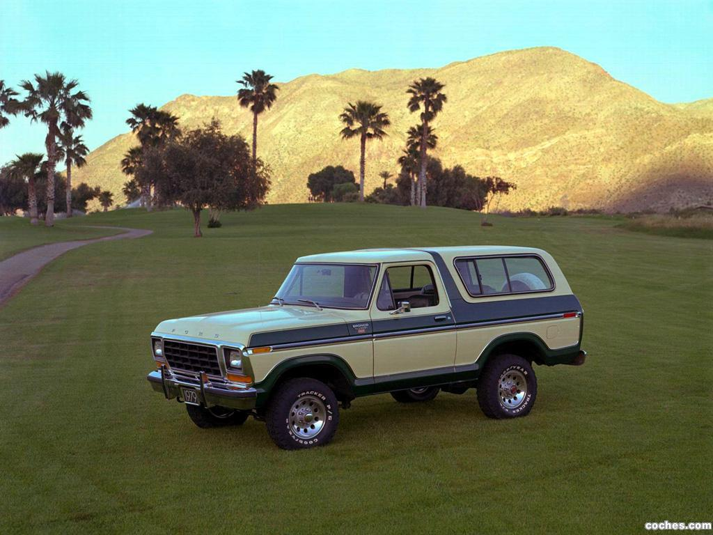 Foto 0 de Ford Bronco Ranger XLT 1978