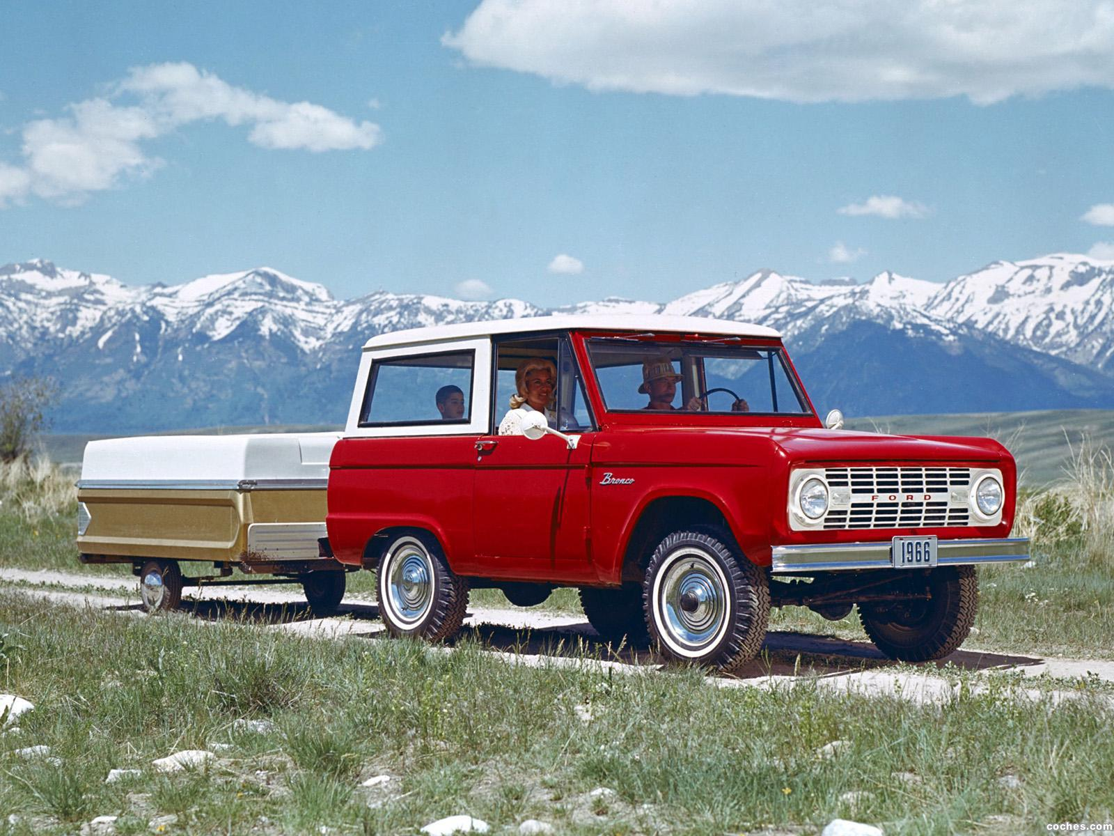 Foto 0 de Ford Bronco Wagon U15 1966