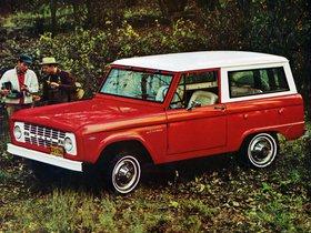 Ver foto 3 de Ford Bronco Wagon U15 1966