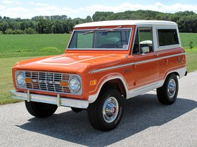 Fotos de Ford Bronco Wagon 1974