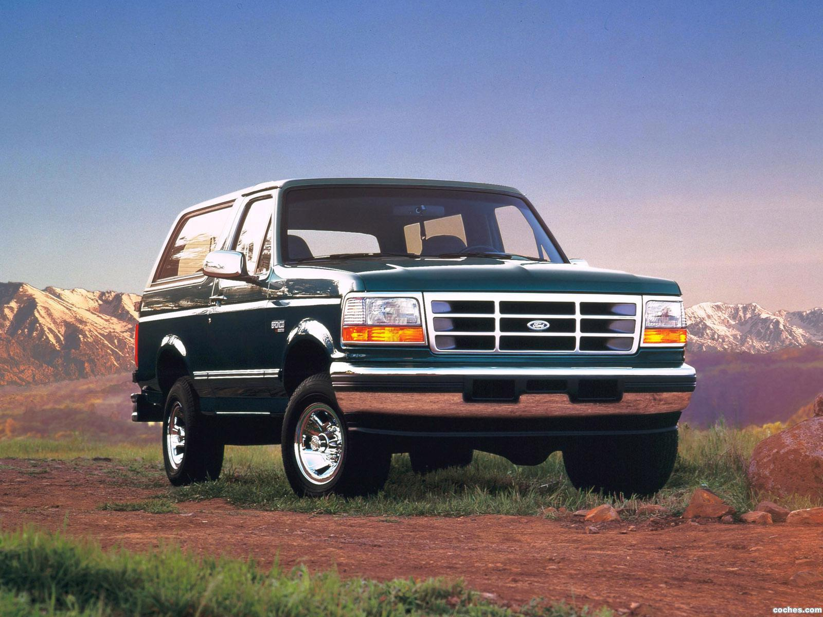 Foto 0 de Ford Bronco 1992