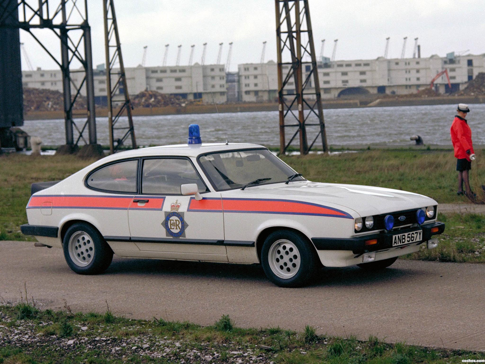 Foto 0 de Ford Capri 2.8i Police Car UK 1983