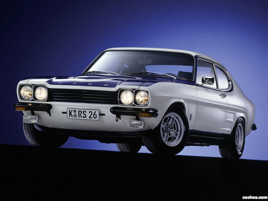 Foto 0 de Ford Capri RS2600 1970