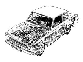 Ver foto 6 de Ford Cortina 2 puertas Saloon 1962