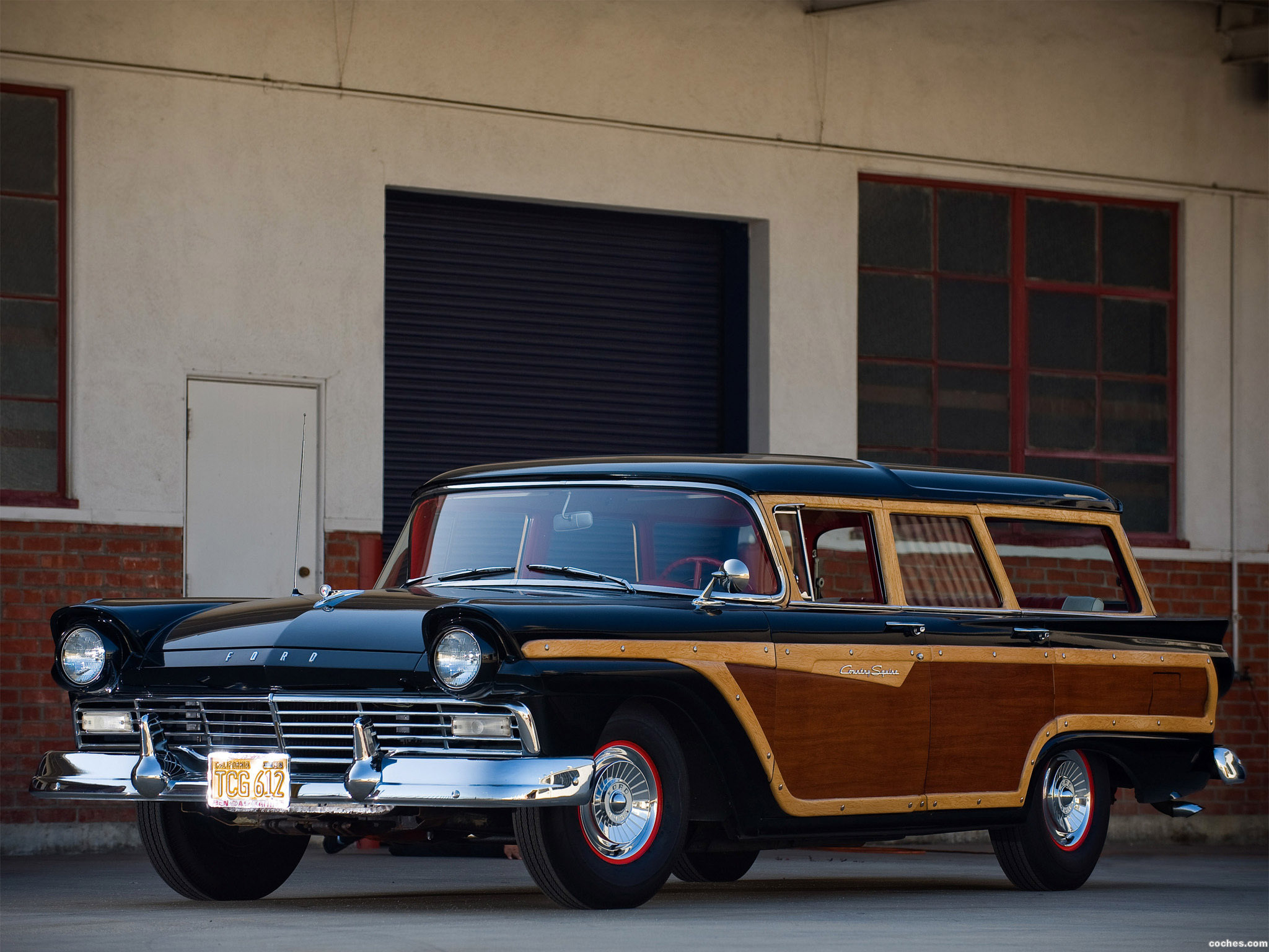 Foto 0 de Ford Country Squire 1957