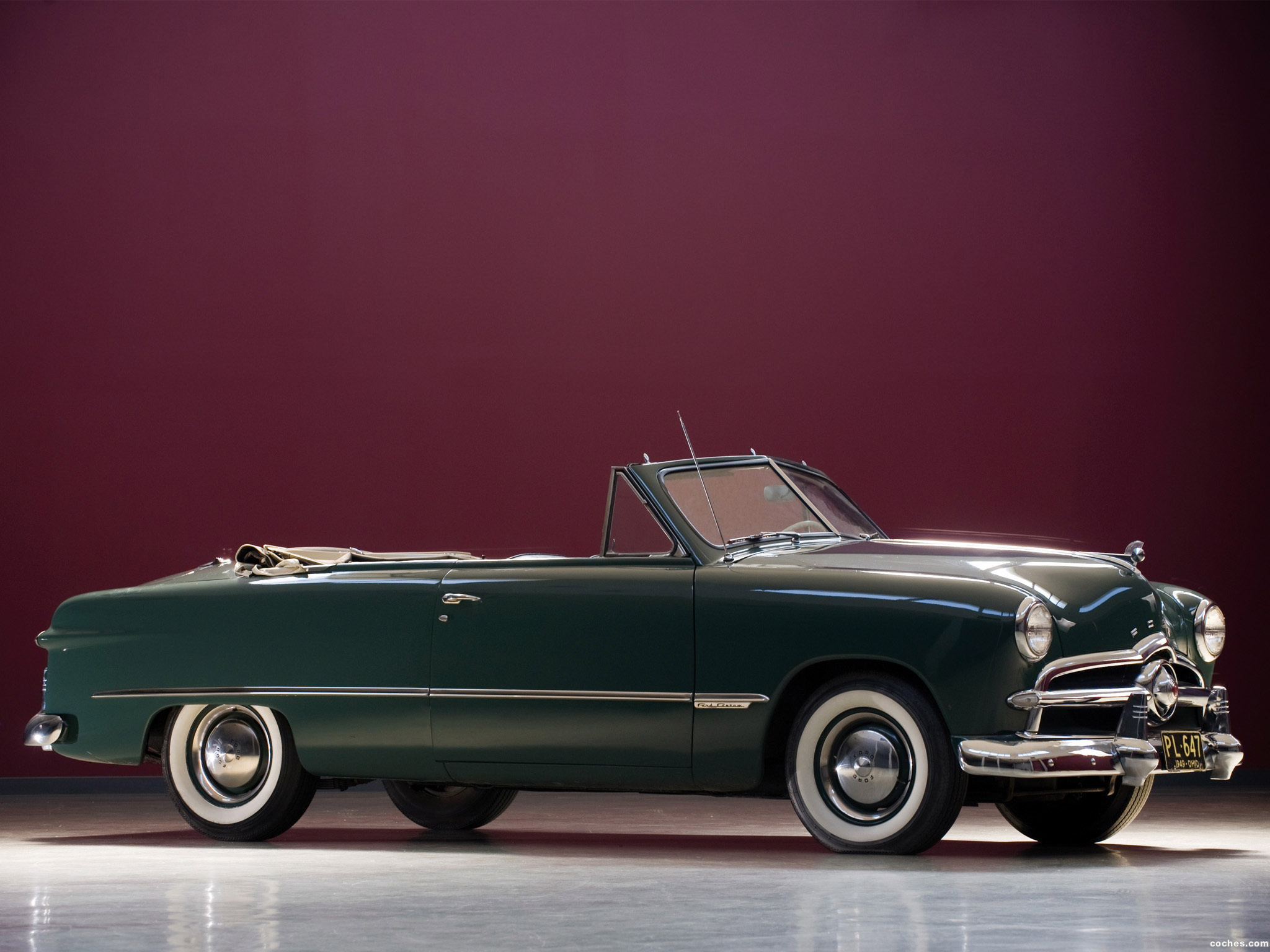 Foto 0 de Ford Custom Convertible 1949