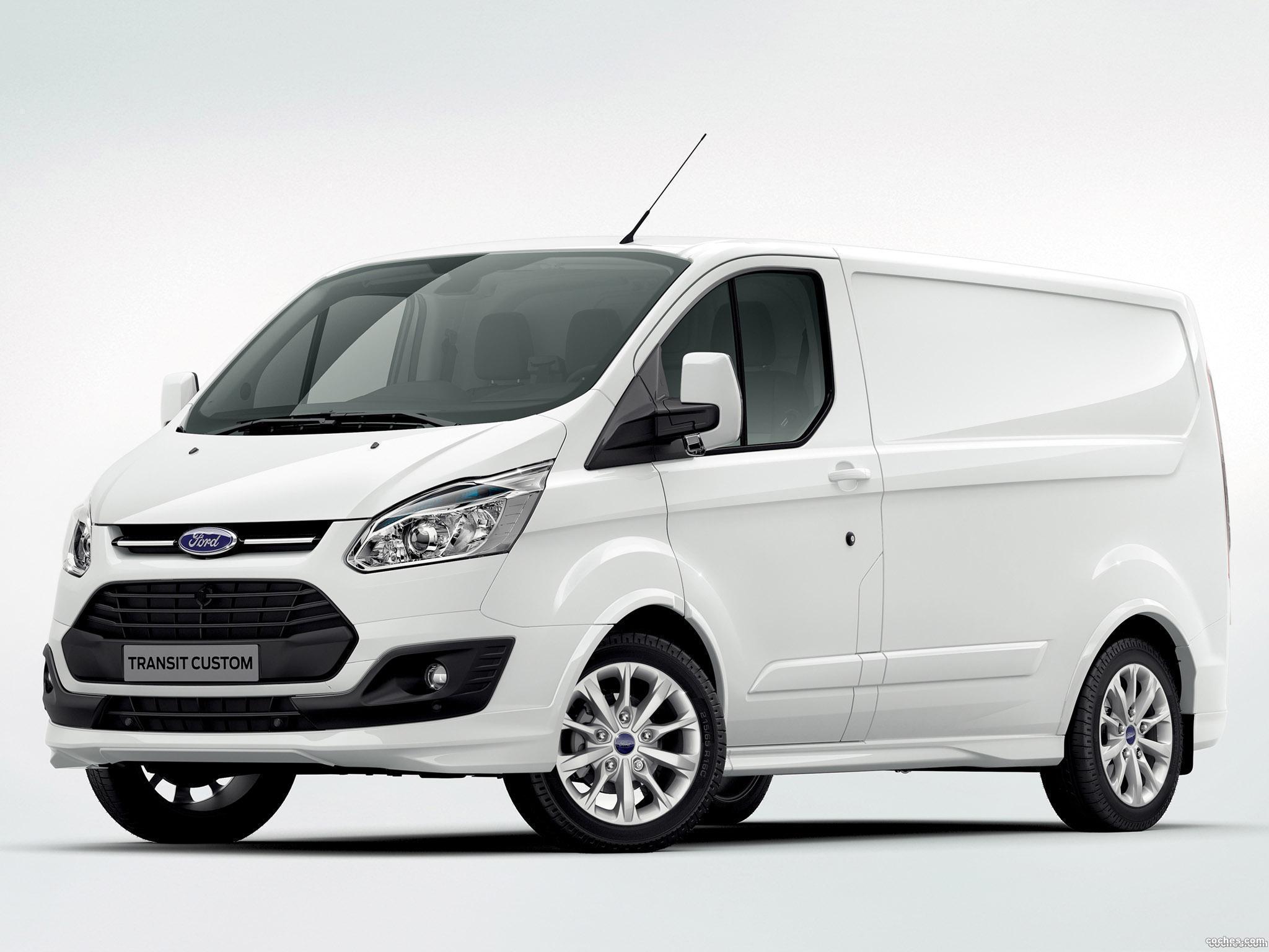 Foto 0 de Ford Transit Custom Van 2012