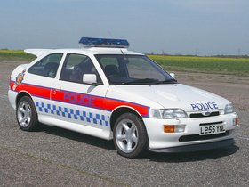Fotos de Ford Escort Police Car UK 1994