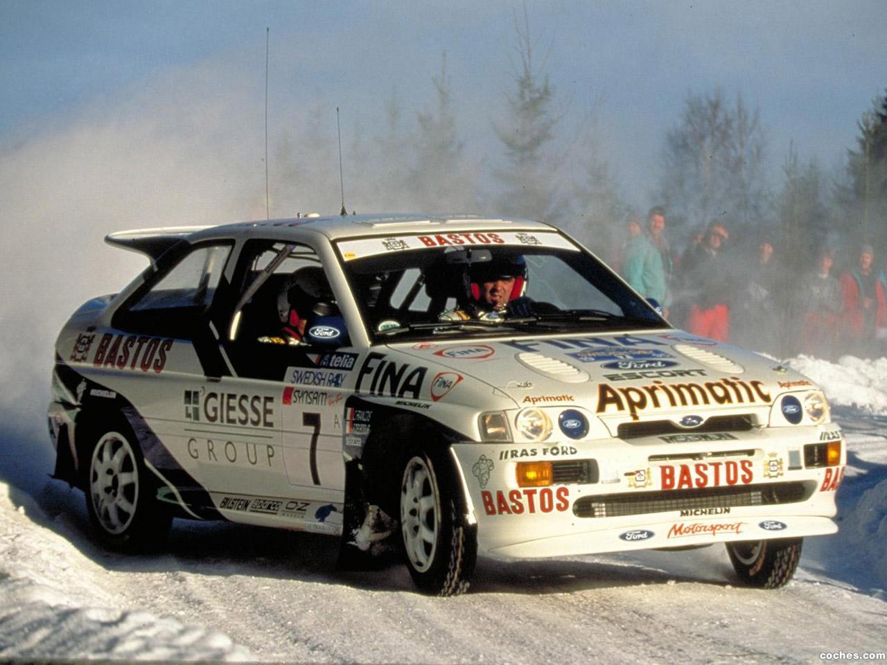 Foto 0 de Ford Escort RS Cosworth Rally Car 1993