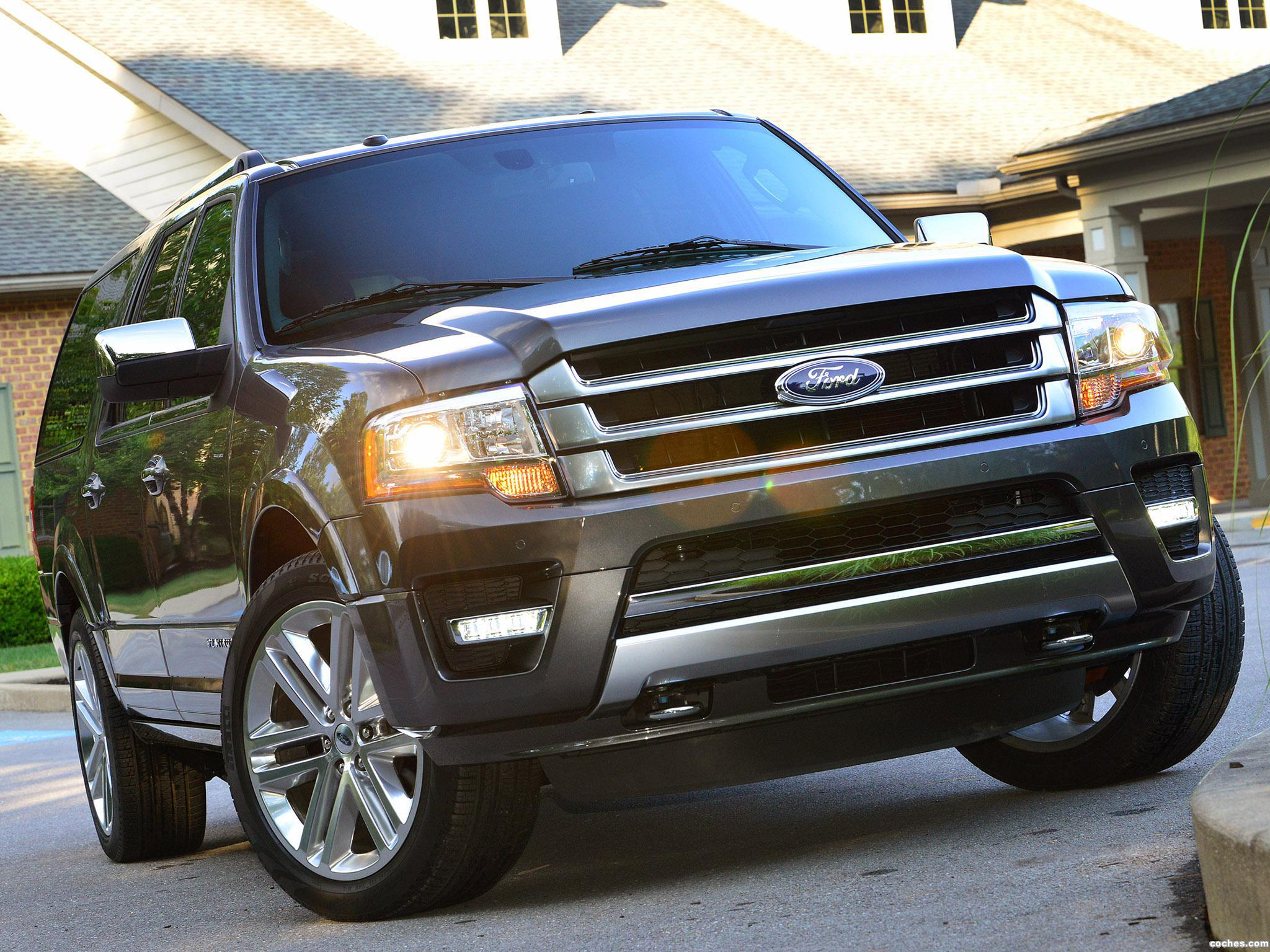 Foto 0 de Ford Expedition EL Platinum 2014