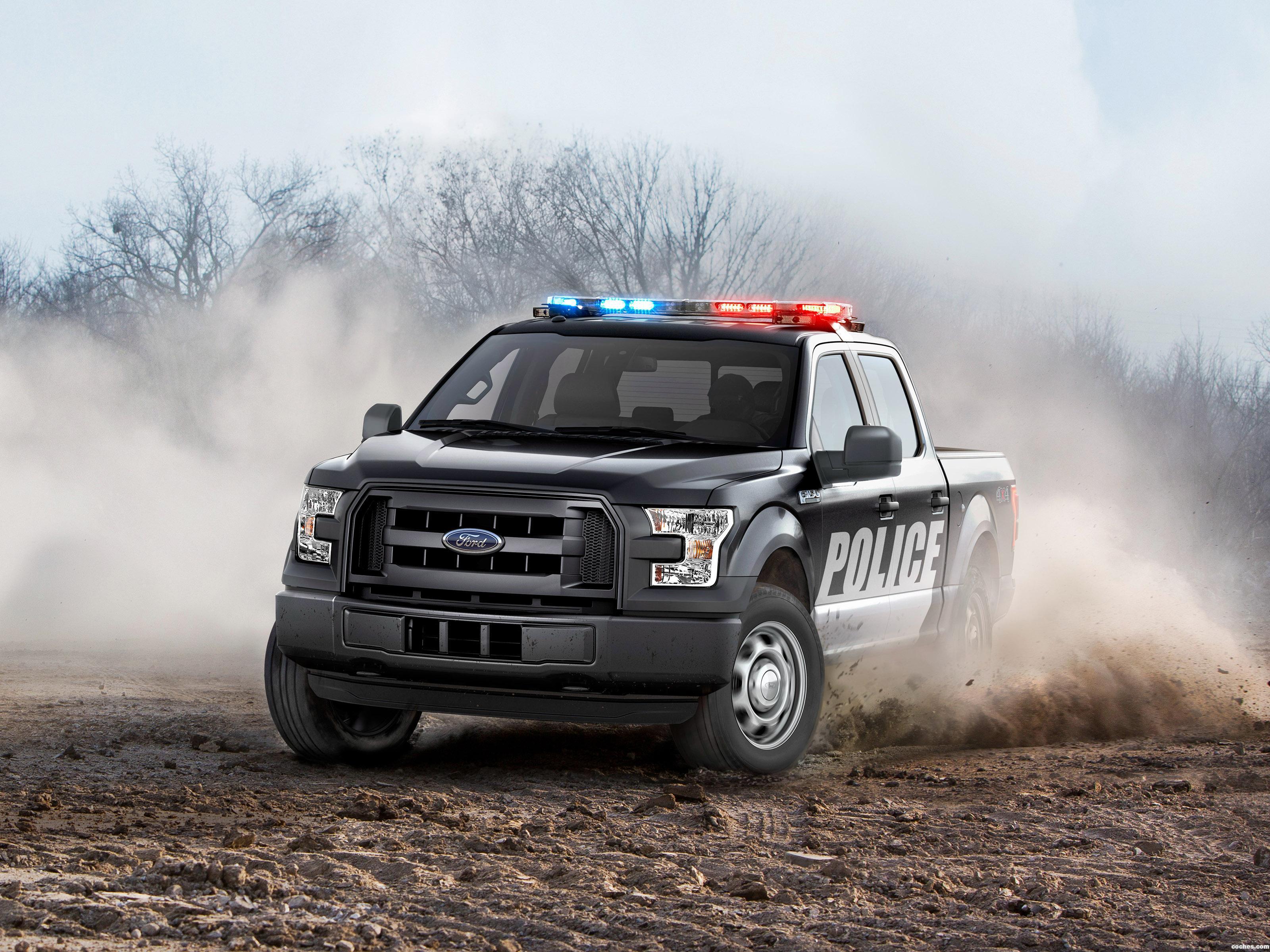 Foto 0 de Ford F-150 Special Service Vehicle SuperCrew 2016