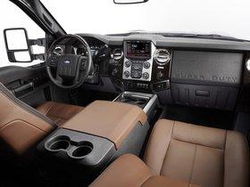 Ver foto 8 de Ford F-250 Super Duty Platinum Crew Cab 2012