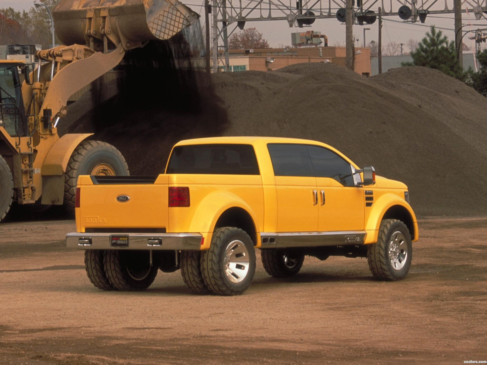 Foto 3 de Ford F-350 Tonka Concept Mighty 2002