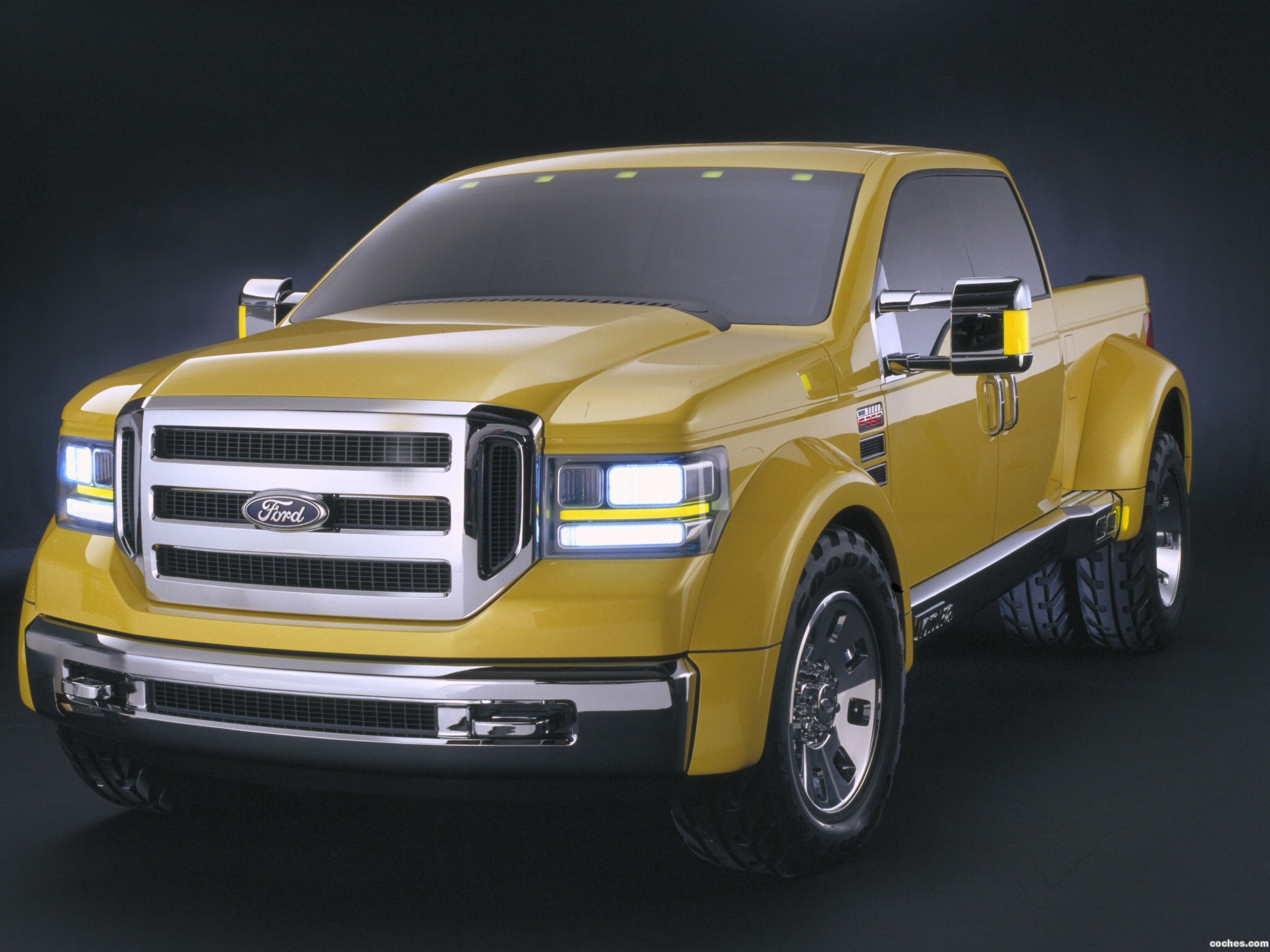 Foto 0 de Ford F-350 Tonka Concept Mighty 2002