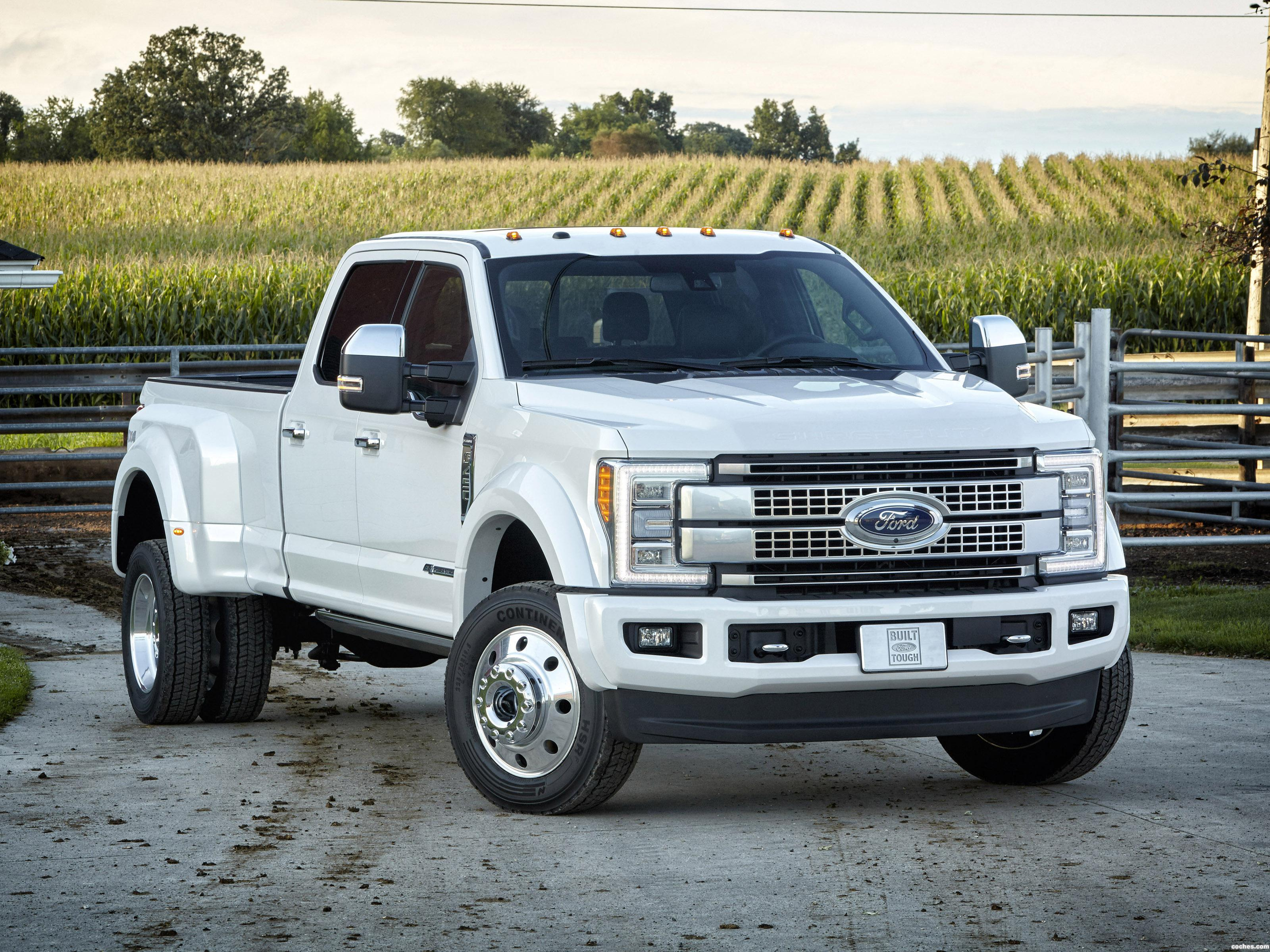 Foto 0 de Ford F-450 Super Duty Platinum Crew Cab 2016