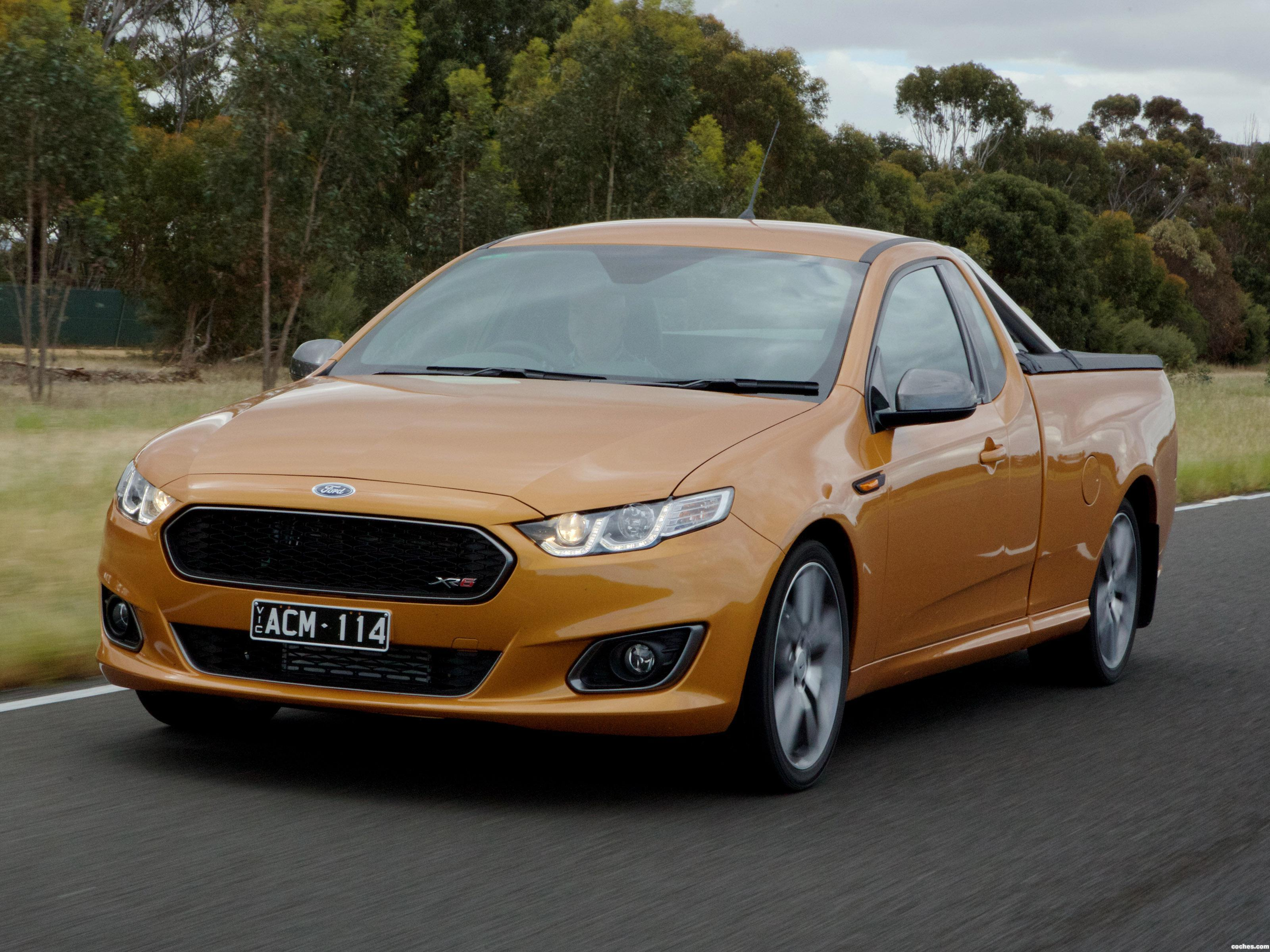 Foto 0 de Ford Falcon XR6 Turbo Ute FG  2014