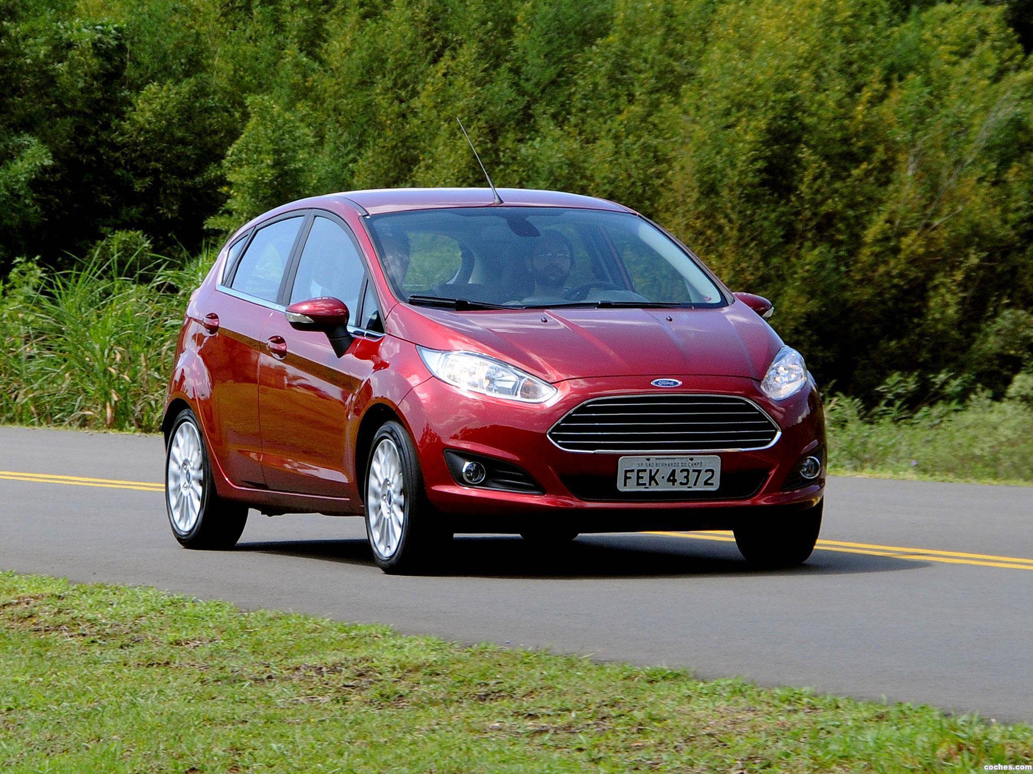 Foto 5 de Ford Fiesta Brasil 2014