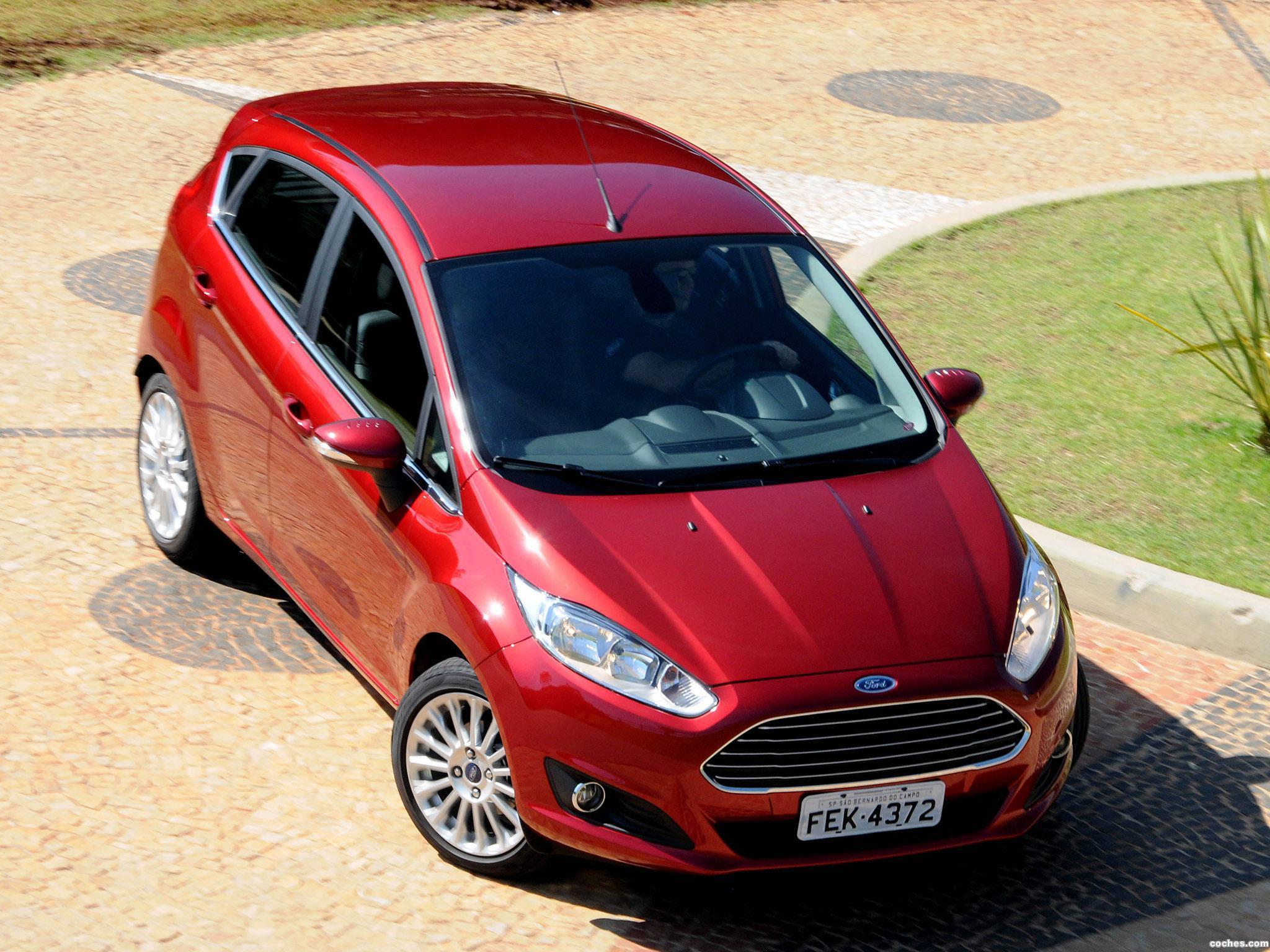 Foto 4 de Ford Fiesta Brasil 2014