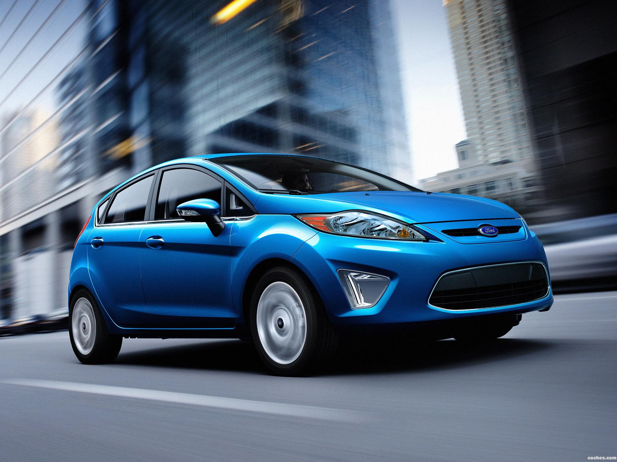 Foto 0 de Ford Fiesta Hatchback USA 2010