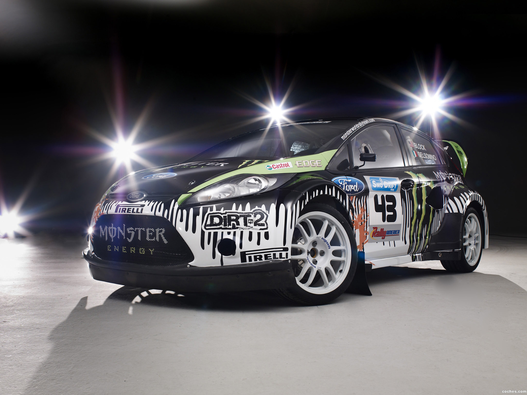 Foto 0 de Ford Fiesta Monster World Rally Team Ken Block 2010