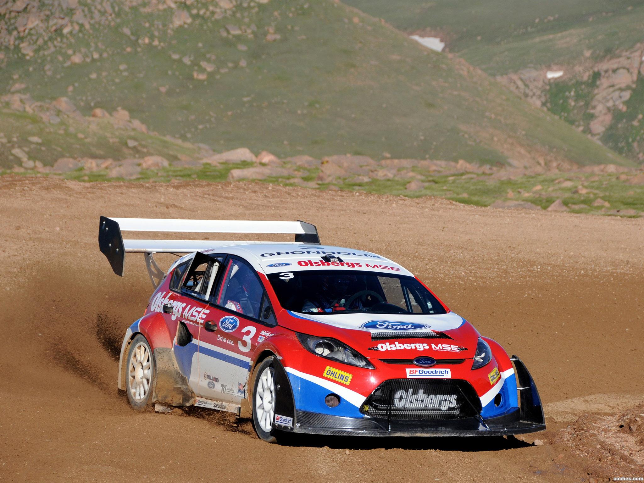 Foto 0 de Ford Fiesta Rallycross Pikes Peak 2009