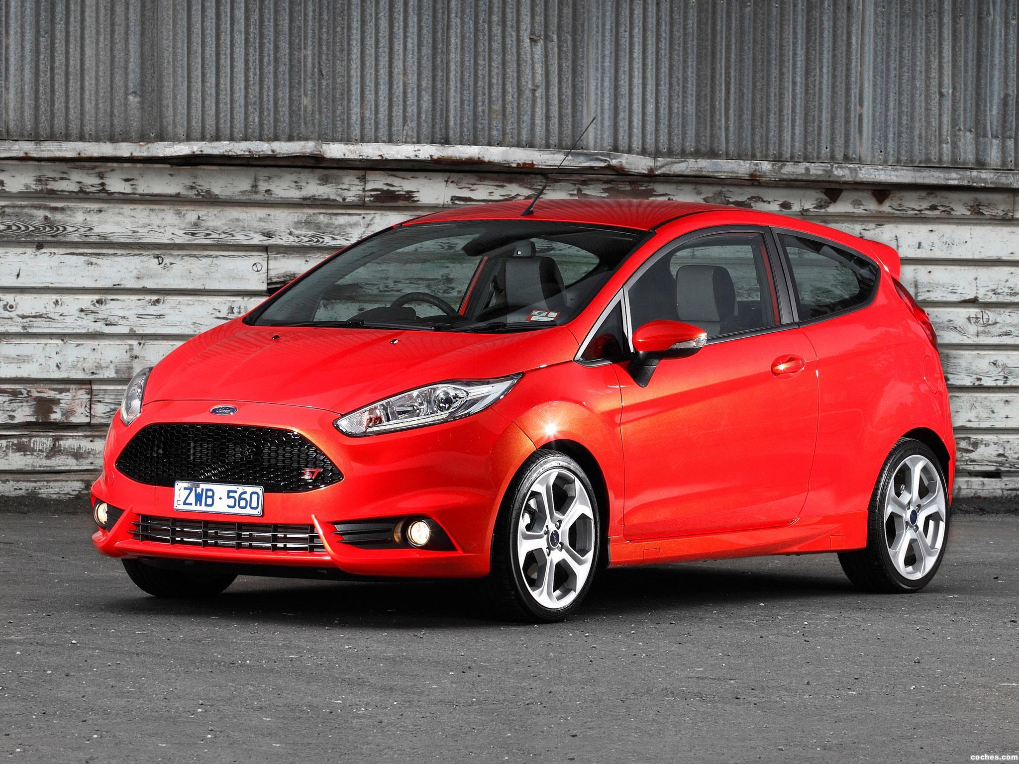Foto 6 de Ford Fiesta ST 3 puertas Australia 2013