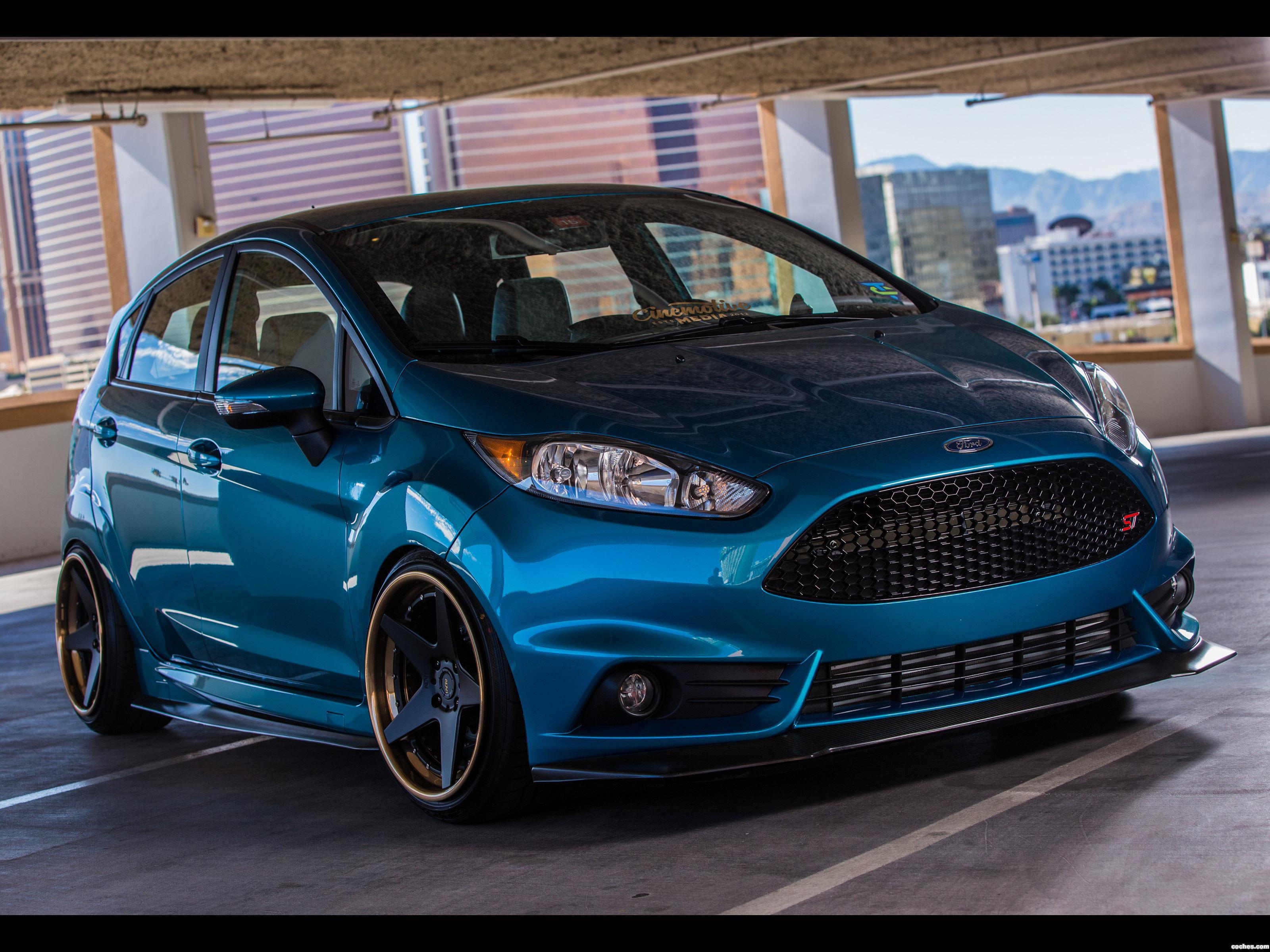 Foto 0 de Ford Fiesta ST Cinemotive Media 2015