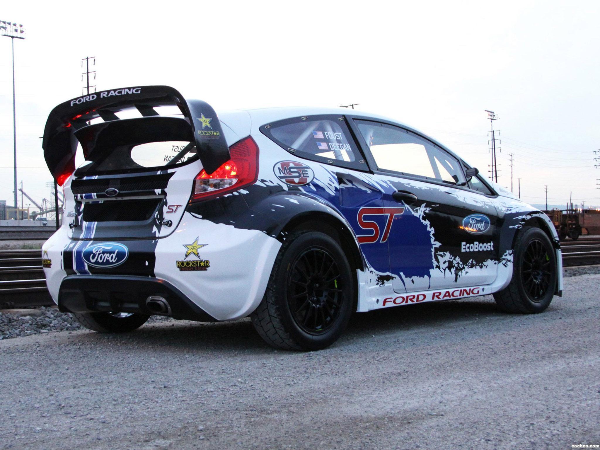 Foto 1 de Ford Fiesta ST Global Rallycross Championship Race Rar 2013