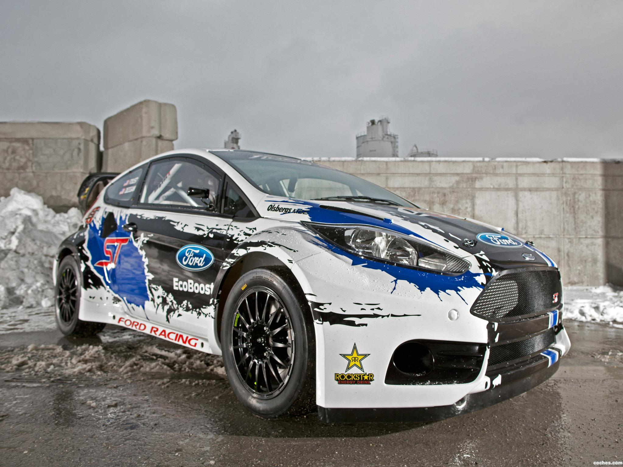 Foto 0 de Ford Fiesta ST Global Rallycross Championship Race Rar 2013