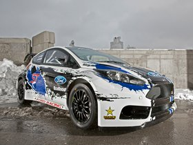 Fotos de Ford Fiesta ST Global Rallycross Championship Race Rar 2013