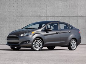 Ver foto 12 de Ford Fiesta Sedan USA 2012