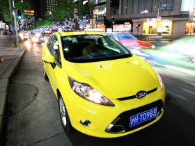 Fotos de Ford Fiesta in Shanghai by Night 2009