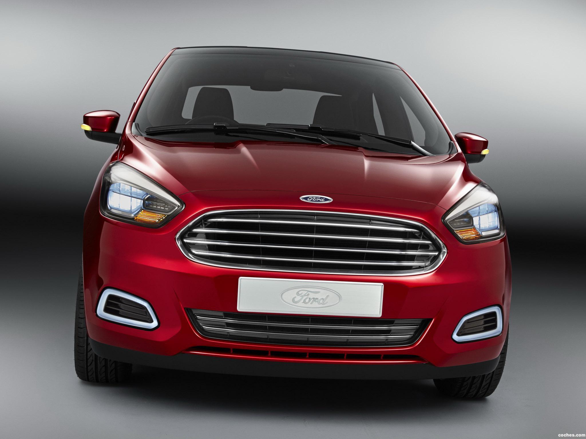 Foto 0 de Ford Figo Concept 2014