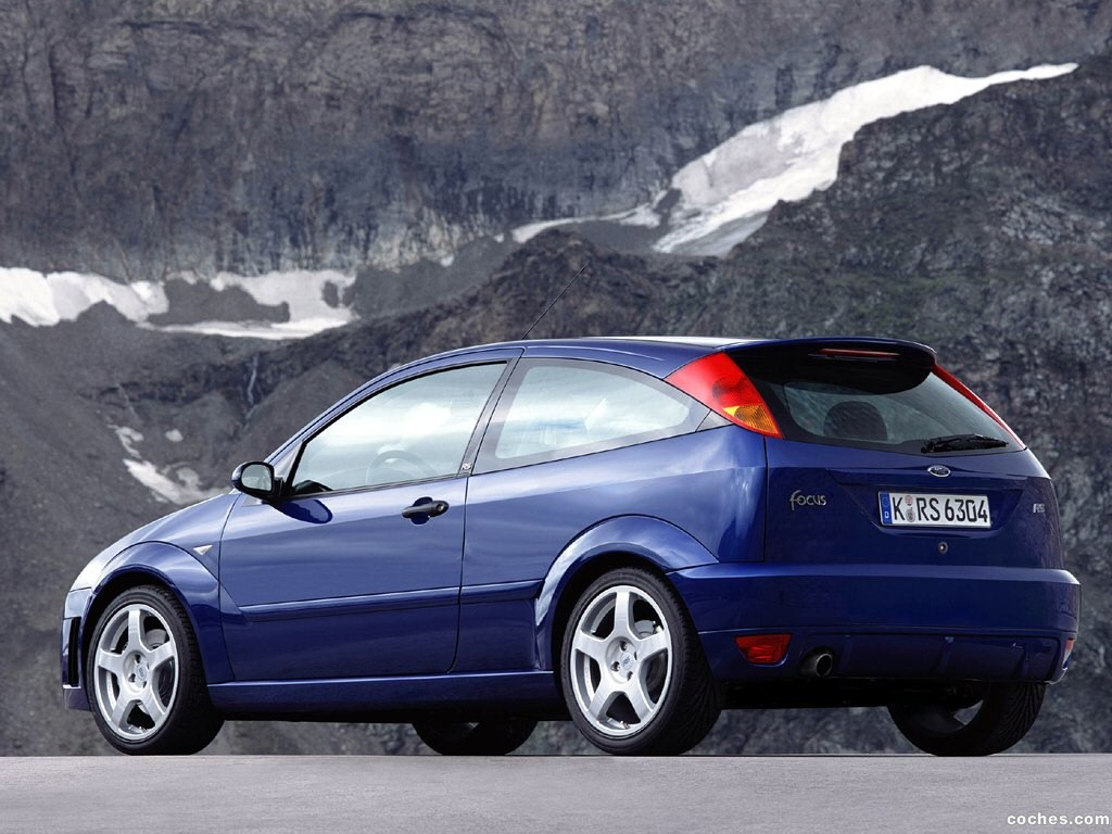 Foto 3 de Ford Focus RS 2002