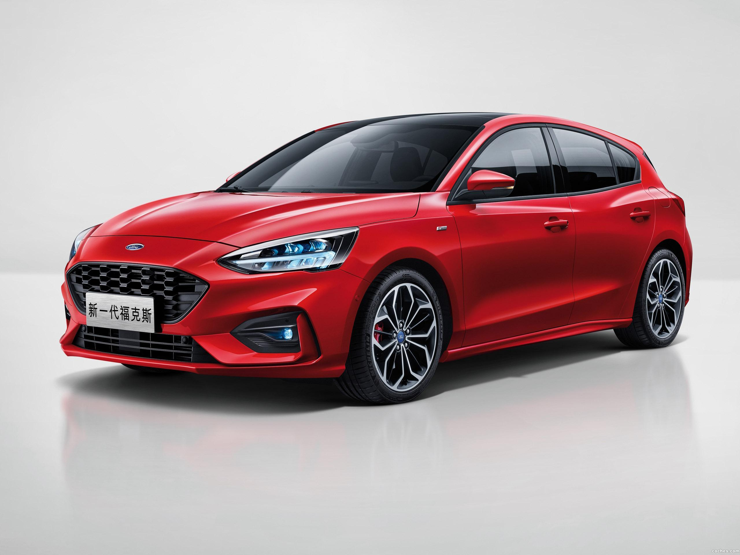 Foto 0 de Ford Focus ST Line China 2018