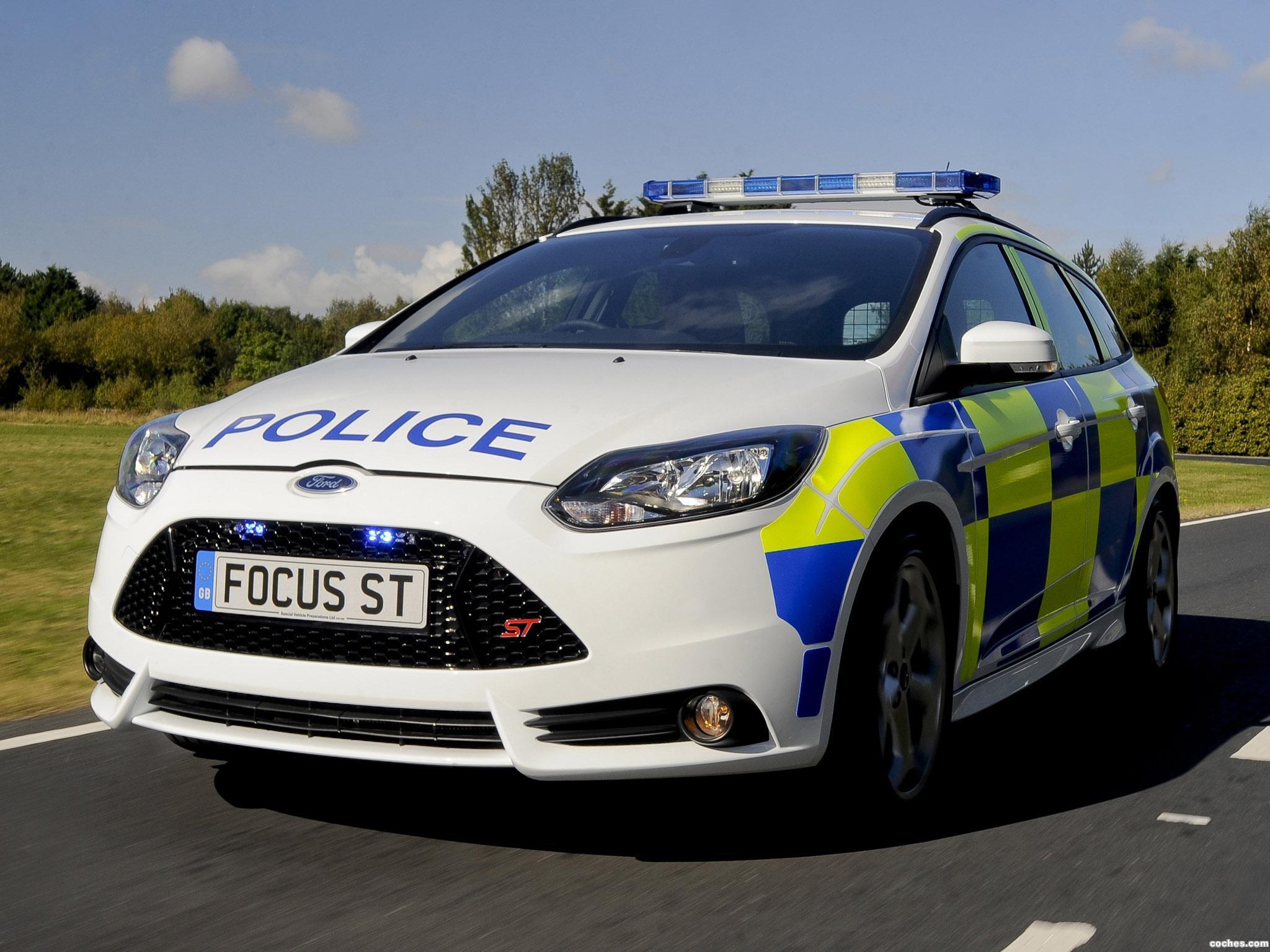 Foto 0 de Ford Focus ST Police Car UK 2012