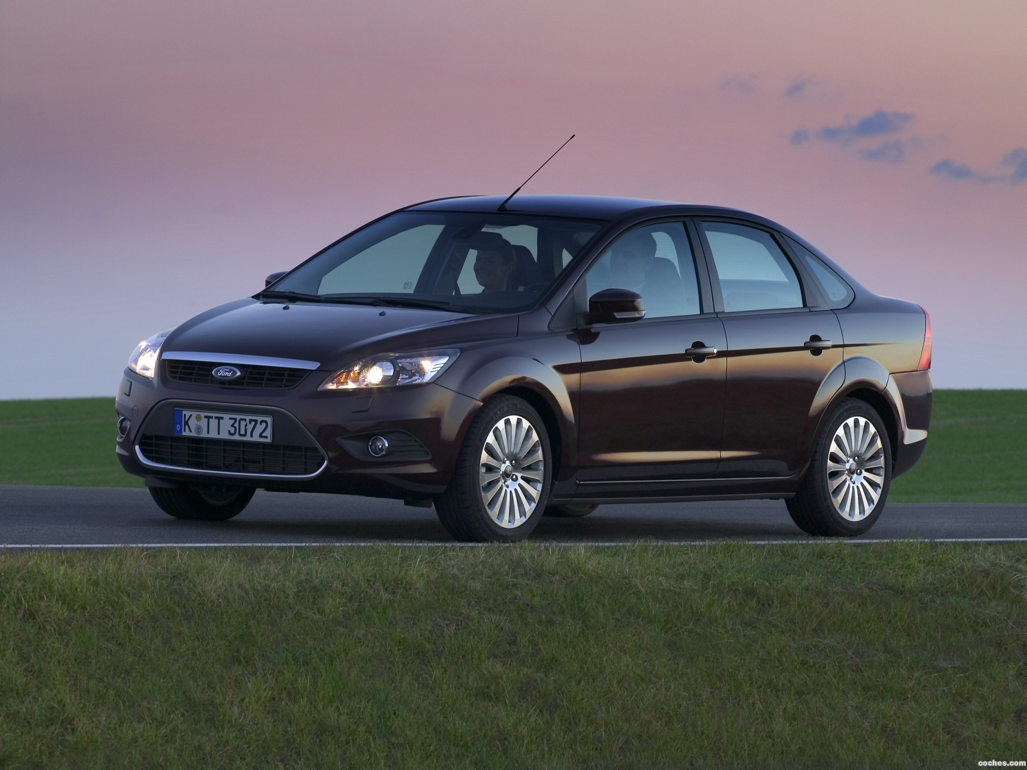 Foto 0 de Ford Focus Sedan Facelift 2008