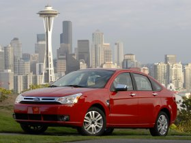 Ver foto 9 de Ford Focus Sedan USA 2008