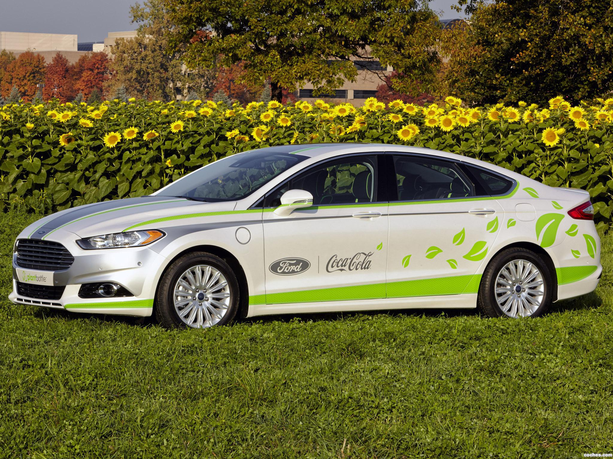 Foto 0 de Ford Fusion Energi Coca Cola Plantbottle Research Vehic 2013