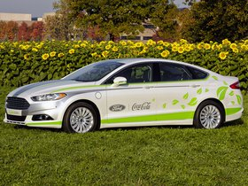 Ver foto 1 de Ford Fusion Energi Coca Cola Plantbottle Research Vehic 2013