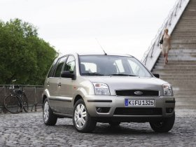 Fotos de Ford Fusion Europe 2002