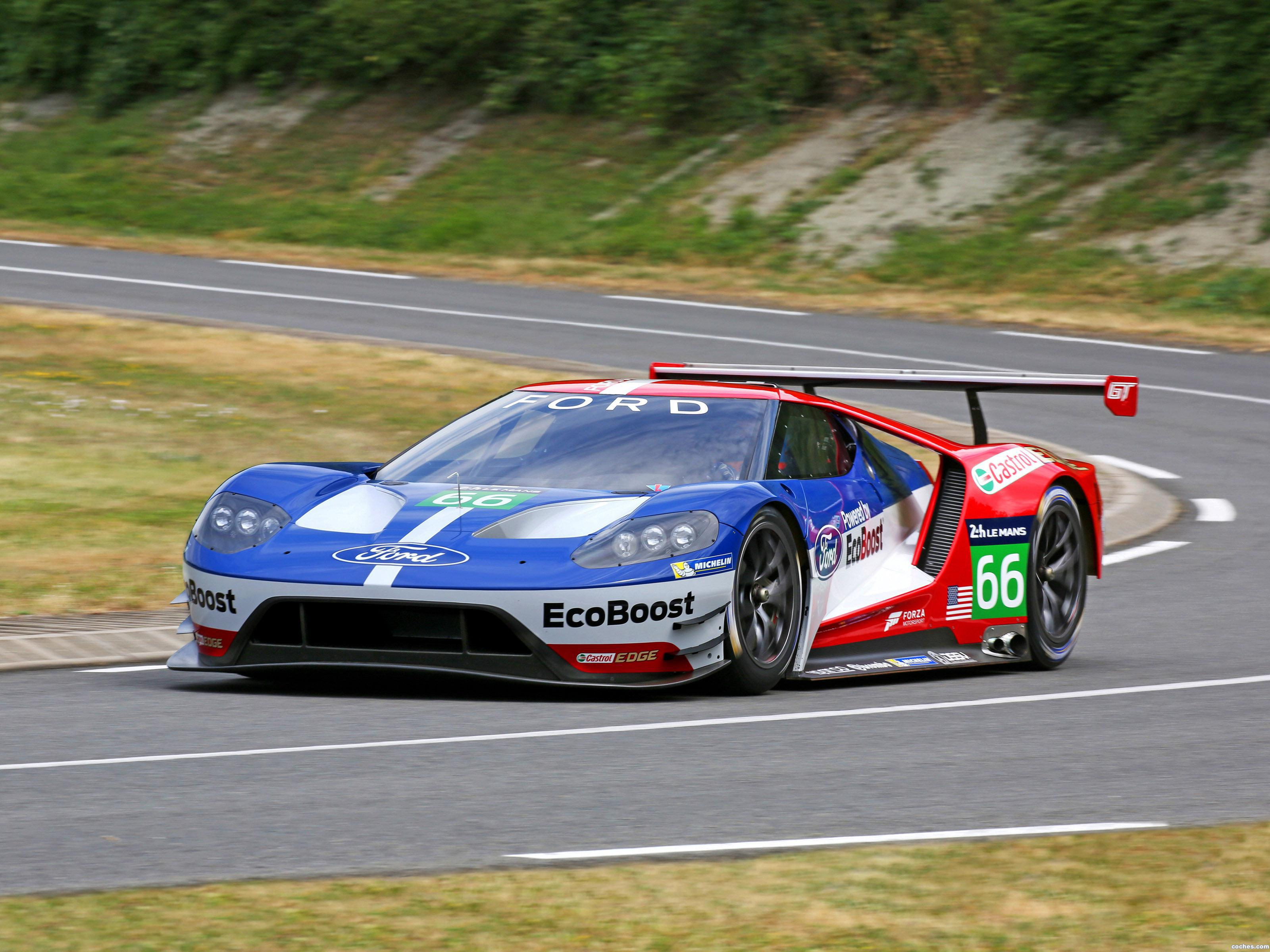 Foto 0 de Ford GT Race Car 2016