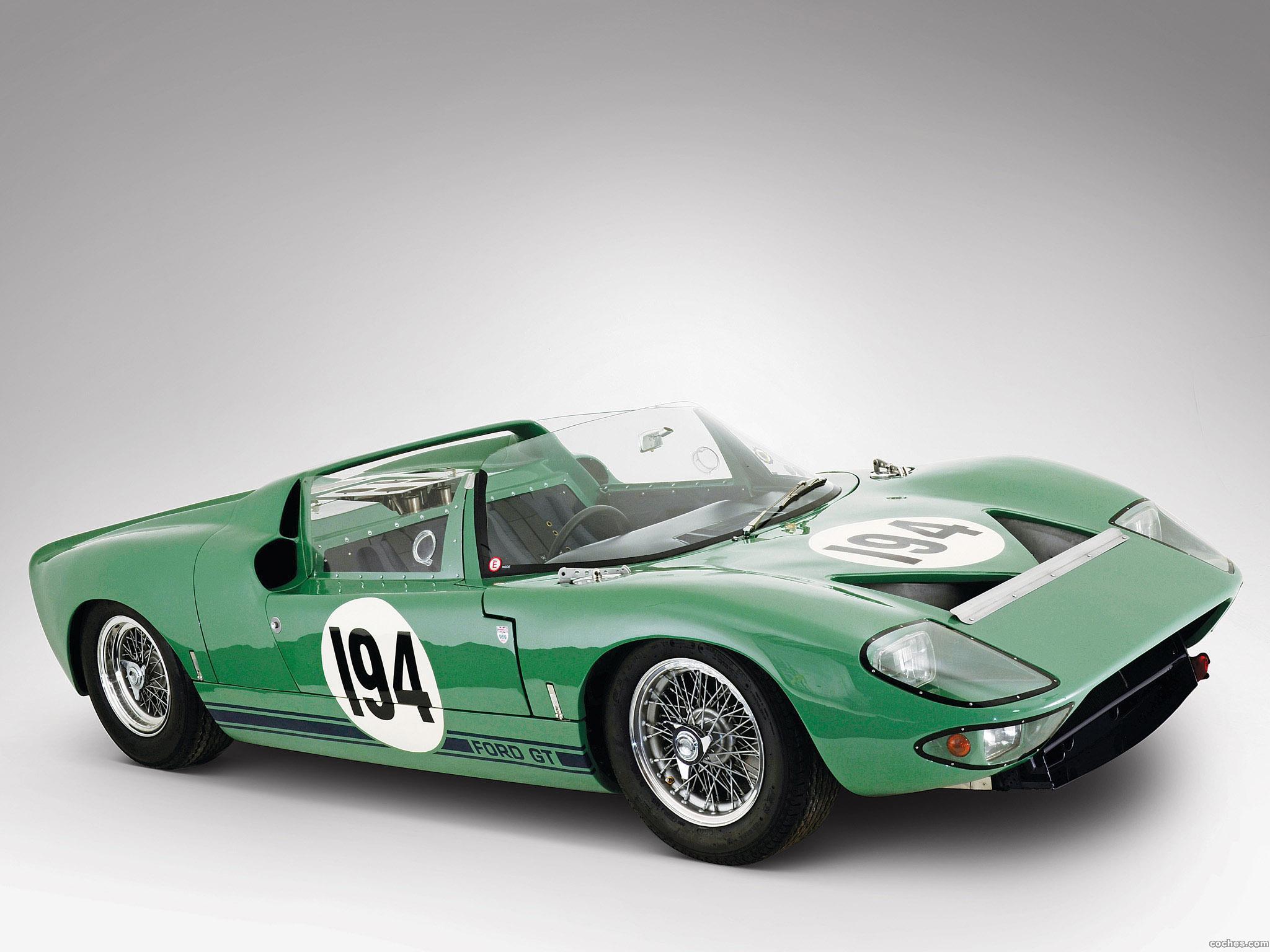 Foto 0 de Ford GT40 Works Prototype Roadster 1965
