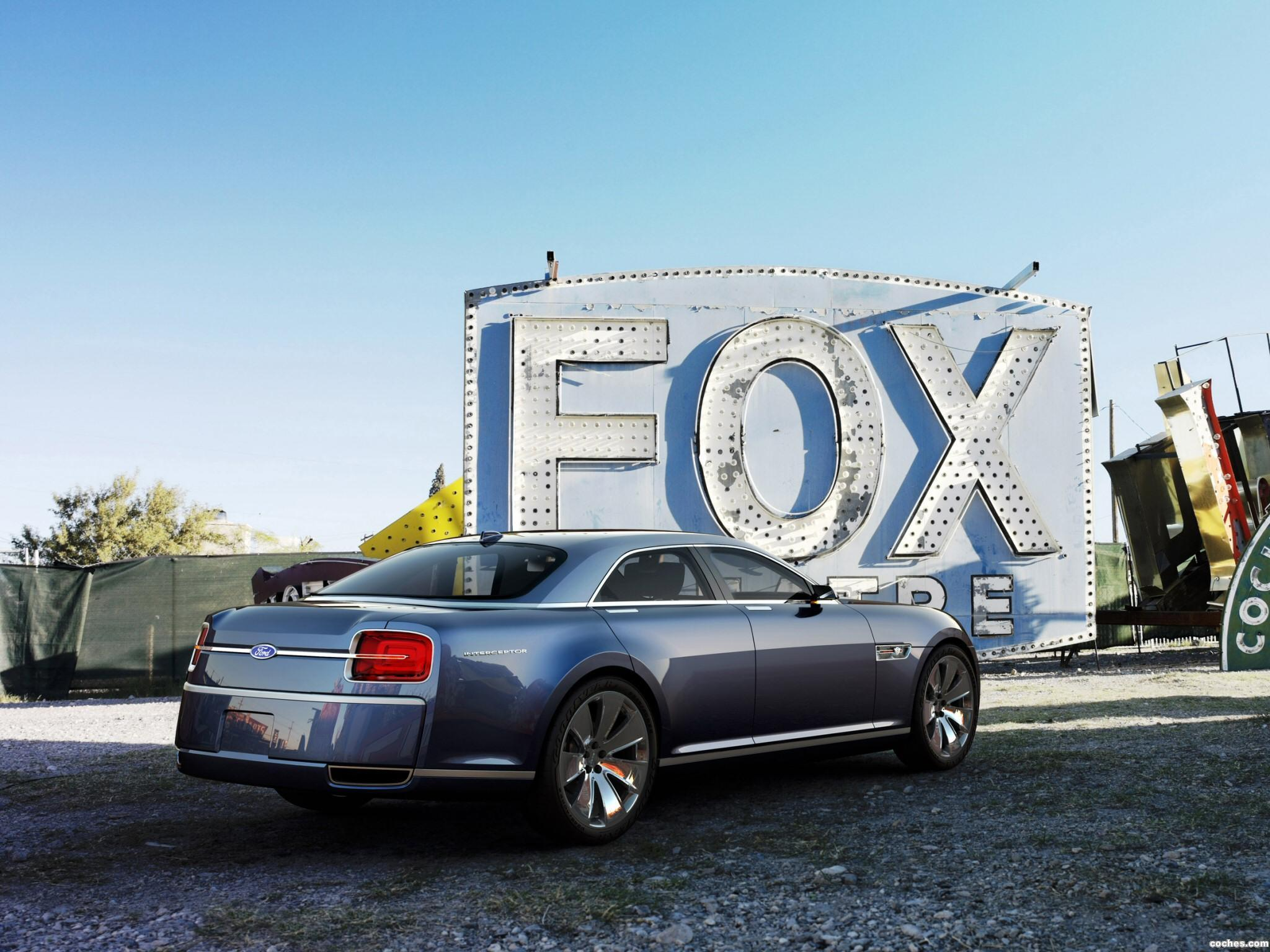 Foto 2 de Ford Interceptor Concept 2007