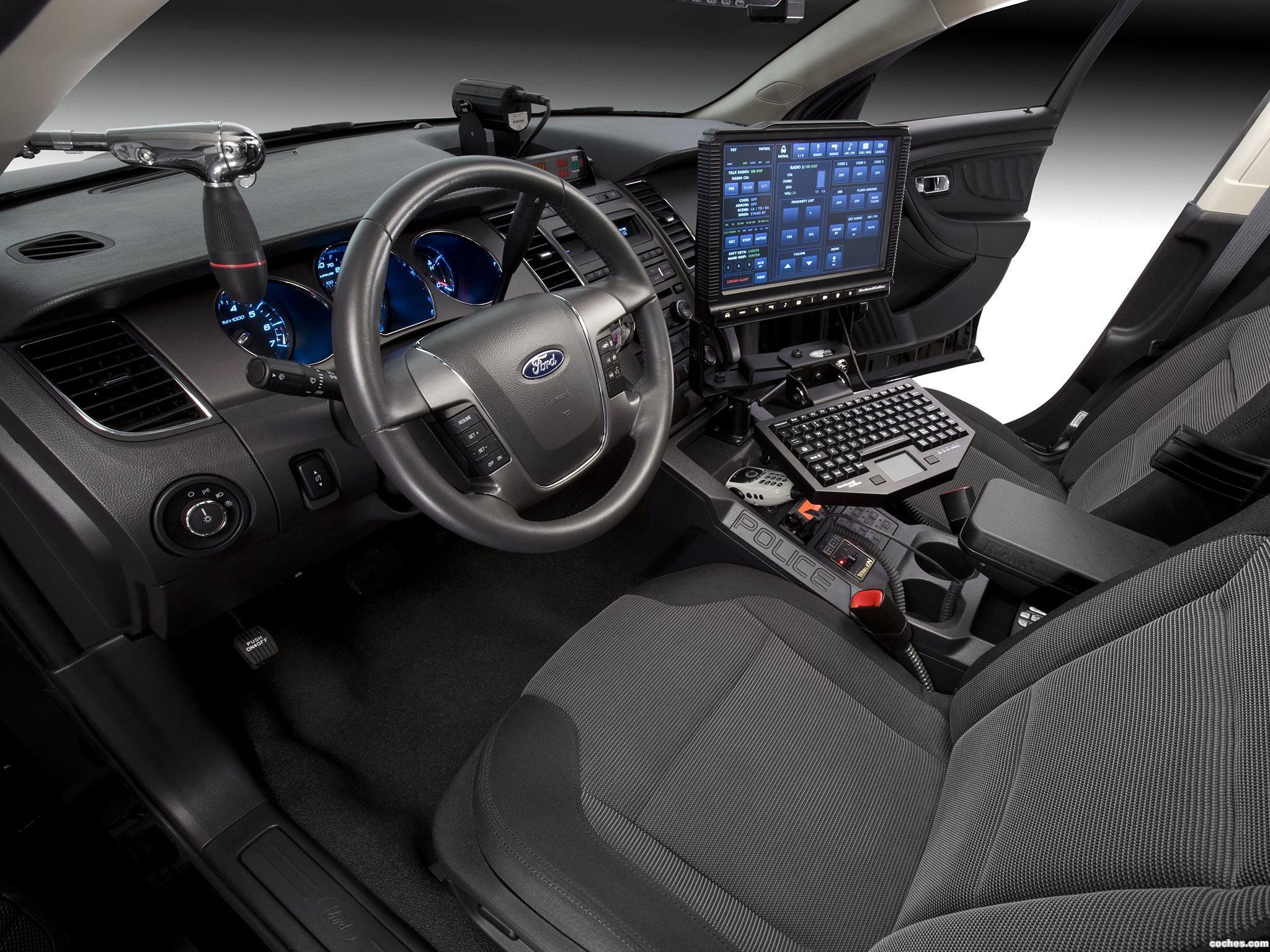 Foto 6 de Ford Interceptor Police Concept 2010