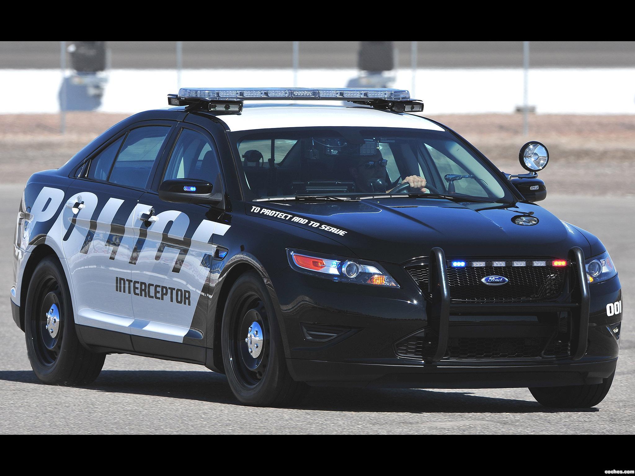 Foto 0 de Ford Interceptor Police Concept 2010